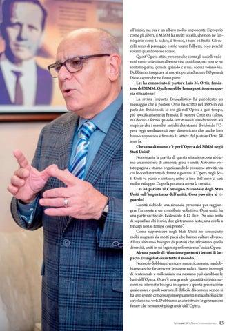 """Page 43 of Intervista """"PRESERVIAMO LA SANA"""