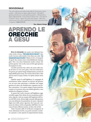 Page 46 of Devozionale APRENDO LE ORECCHIE A GESÙ