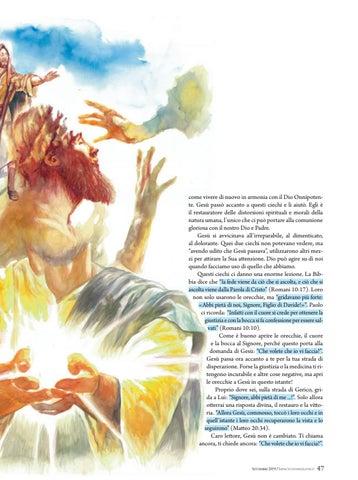 Page 47 of Devozionale APRENDO LE ORECCHIE A GESÙ