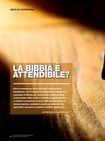 Page 6 of Nota di copertina LA BIBBIA È ATTENDIBILE?