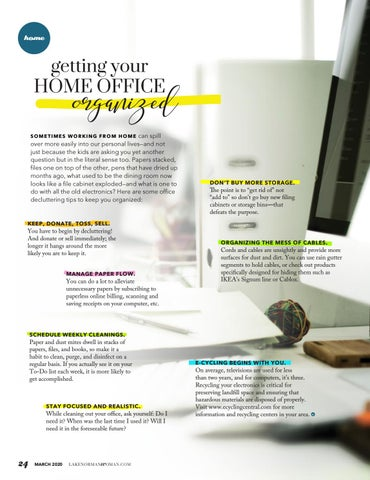 Page 24 of Getting Your Home Office Organized
