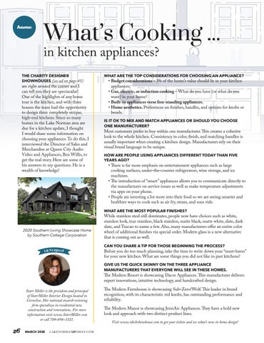 Page 26 of What's Cooking ... In Kitchen Appliances?