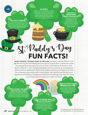 Page 28 of St. Paddy's Day Fun Facts