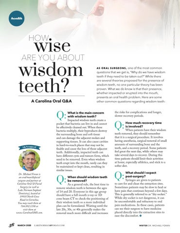 Page 56 of How Wise Are You About Wisdom Teeth?