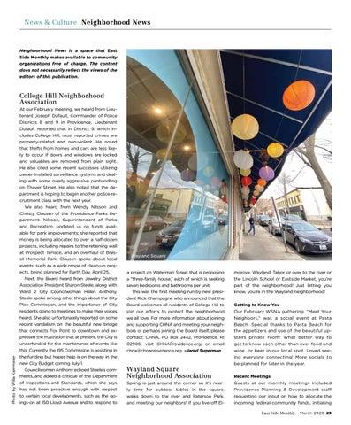 Page 23 of Neighborhood News