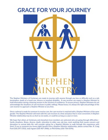 Page 12 of Stephen Ministry