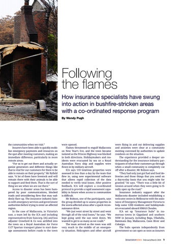 Page 9 of Following the flames