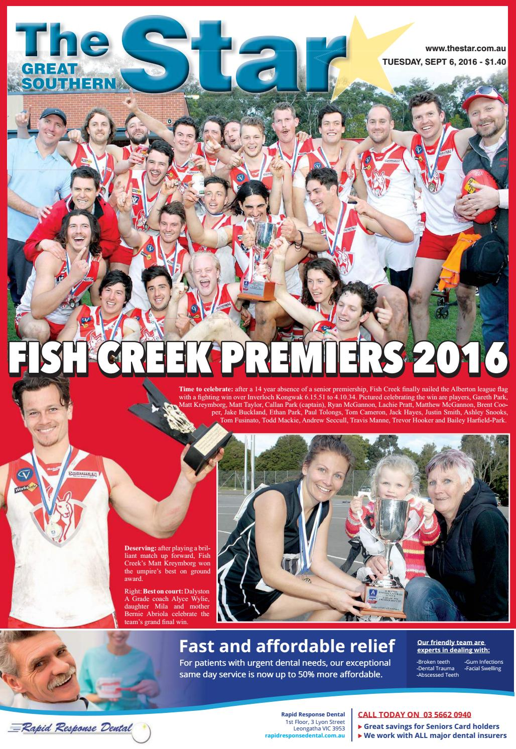The Great Southern Star September 6 2016 By The Great Southern Star Issuu