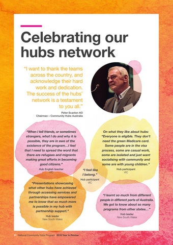 Page 32 of Celebrating our hubs network
