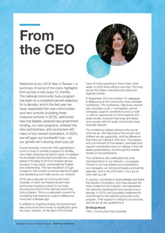 Page 6 of From the CEO