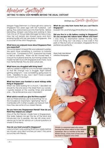 Page 6 of Member Spotlight