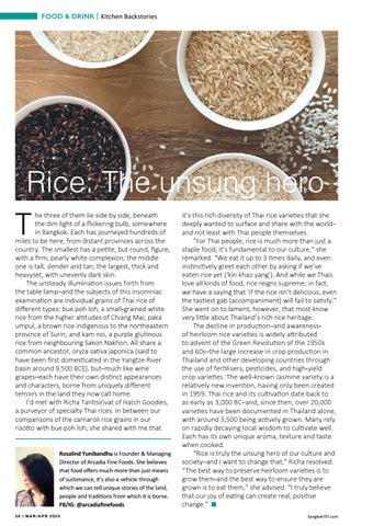Page 56 of Rice: The unsung hero