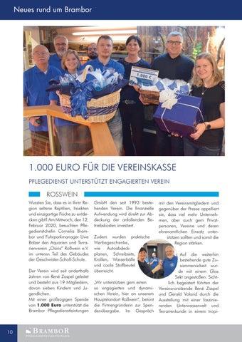 Page 10 of Neues Firmenmagazin ist online.