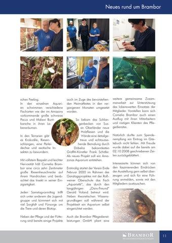Page 11 of Neues Firmenmagazin ist online.