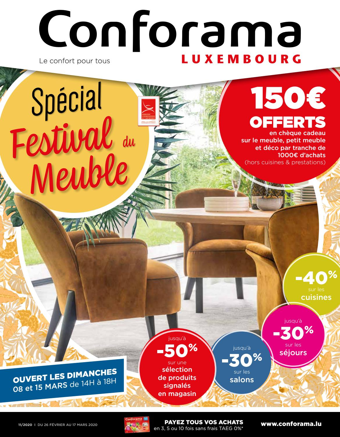 Doc11 Special Festival Du Meuble By Conforama Luxembourg Issuu