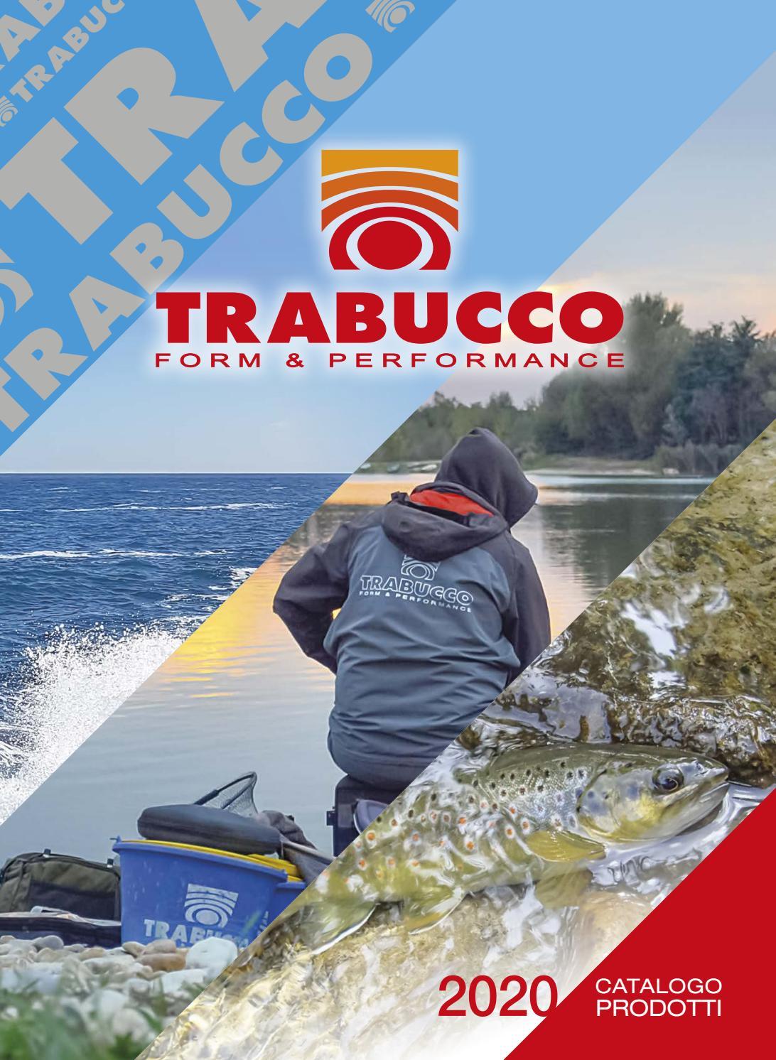 Completo Trabucco trota lago canna mulinello HYDRUS LAKE TROUT nylon combo