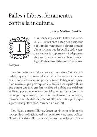 Page 13 of A.C. Falla Plaça de Jesús - Liberum Libri - Falles i llibres, ferramentes contra la incultura.