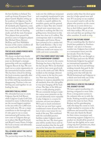 Page 13 of Galgorm Membership