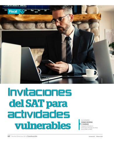 Page 64 of Invitaciones del SAT para actividades vulnerables