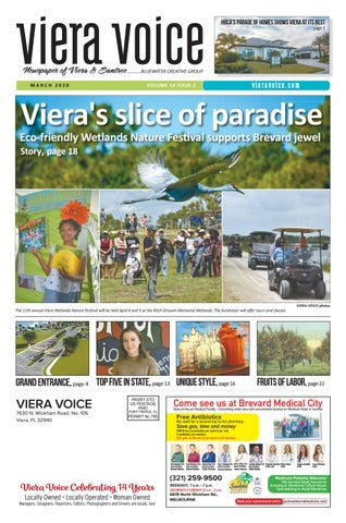 Viera Christmas Parade 2020 Viera Voice, March 2020 by Bluewater Creative Group   issuu