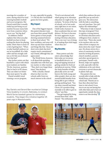 Page 11 of World Series for Students Yields Long-term Benefits