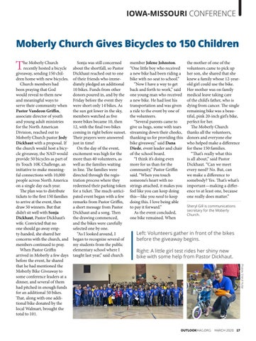 Page 17 of Moberly Church Gives Bicycles to 150 Children
