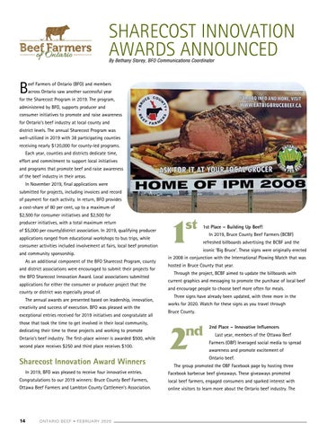 Page 14 of BFO Sharecost Innovation Awards