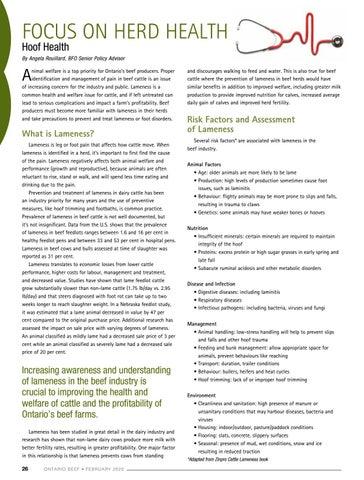 Page 26 of Focus on Herd Health: Hoof Health