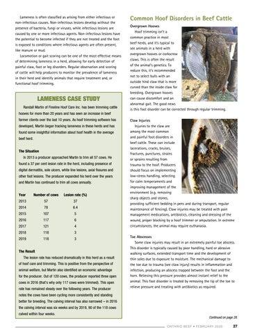 Page 27 of Focus on Herd Health: Hoof Health