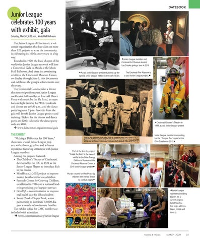 Page 25 of Junior League celebrates 100 years with exhibit, gala