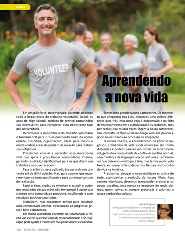 Page 40 of Aprendendo a nova vida