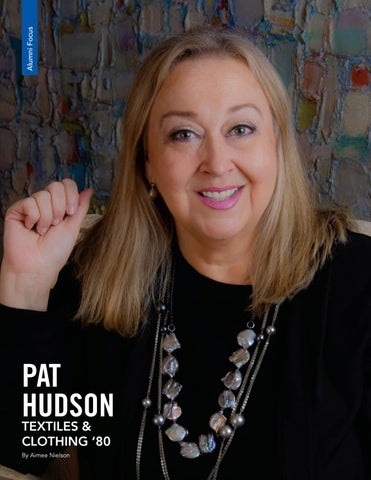 Page 14 of ALUMNI FOCUS - Pat Hudson