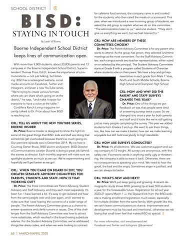 Page 60 of BISD: STAYING IN TOUCH