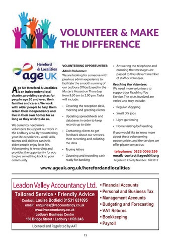 Page 15 of Age UK