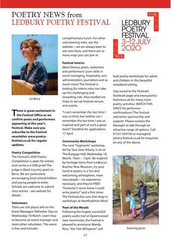 Page 27 of Ledbury Poetry Festival