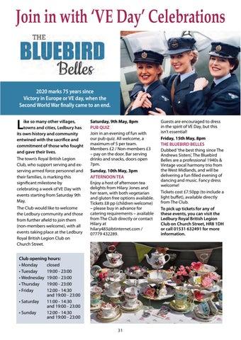 Page 31 of VE Day' Celebrations