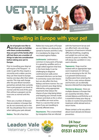 Page 33 of Vet Talk