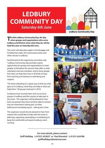 Page 41 of Ledbury Community Day