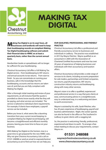 Page 8 of Making Tax Digital