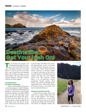 Page 36 of Destination: Get Y our Irish On. Go beyond St. Patrick's Day and experience the Irish spirit worldwide