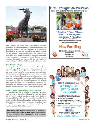 Page 37 of Destination: Get Y our Irish On. Go beyond St. Patrick's Day and experience the Irish spirit worldwide