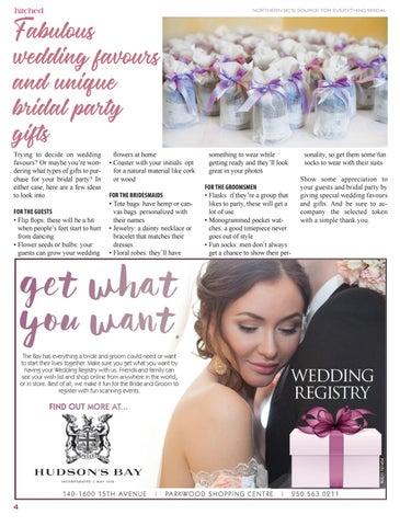 Page 4 of Unique wedding favours