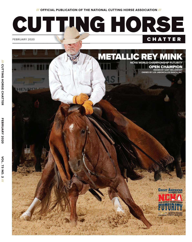 Ncha Cutting Horse Chatter February 2020 By Cowboy Publishing Group Issuu