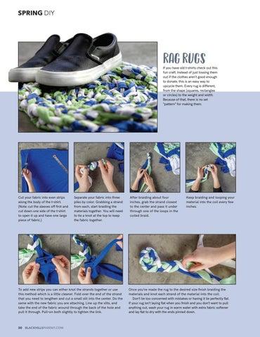 Page 32 of Craft Corner: Rag Rugs