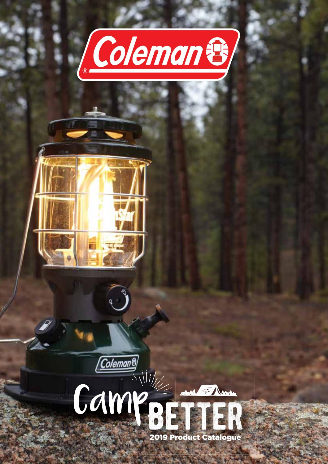 Coleman 2019 Product Catalogue Camping World Australia by