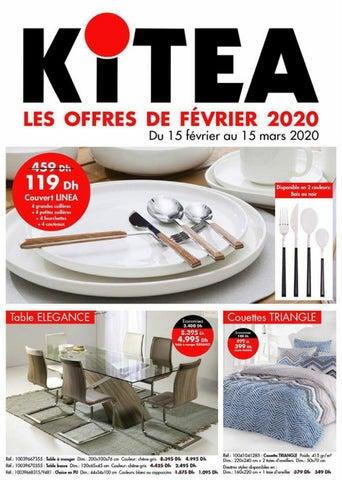 Catalogue kitea du 22 Février Au 15 Mars