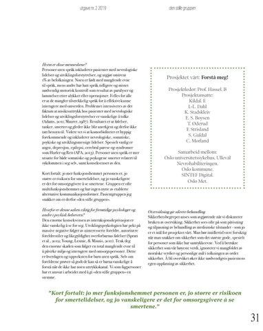 Page 31 of 35 den stille gruppen