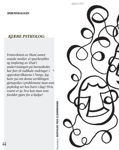 Page 44 of 45 spør psykologen