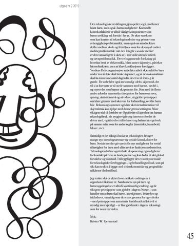 Page 45 of 45 spør psykologen