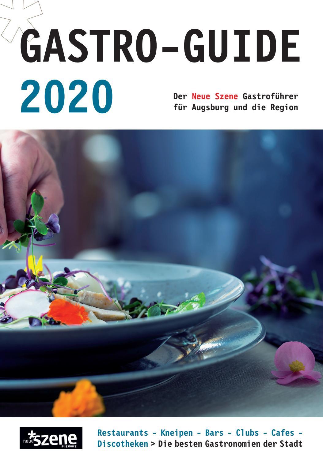 Gastro Guide Augsburg 2020 By Neue Szene Augsburg Issuu